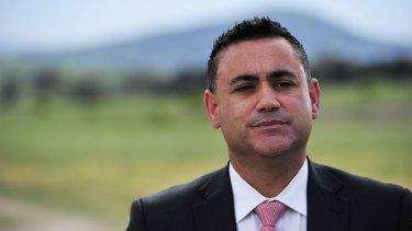 Apprenticeships: NSW Deputy Premier John Barilaro.
