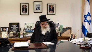 Rabbi Yaacov Litzman in 2016.