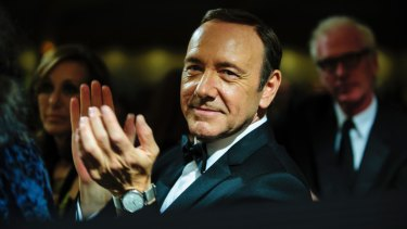 Actor Kevin Spacey as the ruthless Frank Underwood in House of Cards.