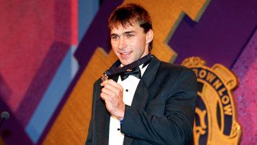 Sydney's Brownlow medallist Paul Kelly in 1995.