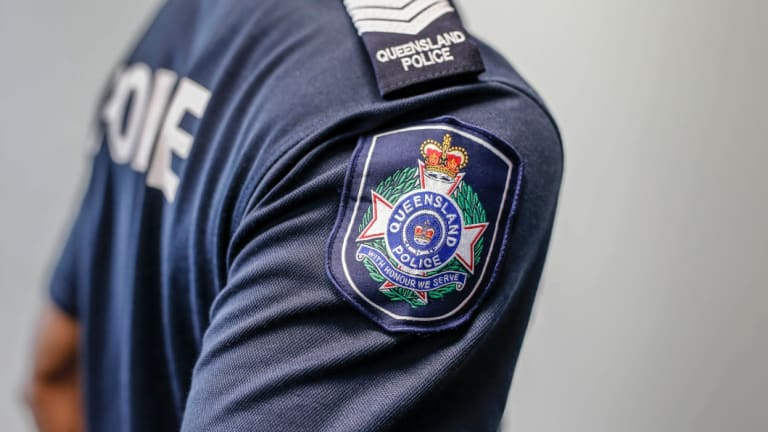 Police are looking for two men after two 17-year-olds were attacked and robbed after a school formal in Brisbane.