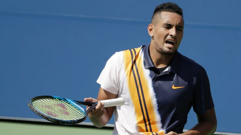Nick Kyrgios has a tough road ahead.