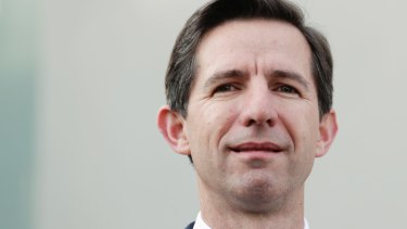 Trade Minister Simon Birmingham says property owners can mark down January 1 as the starting date for falling prices under Labor's negative gearing changes.