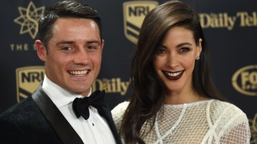 Prior appointment: Cooper Cronk and Tara Rushton are expecting.