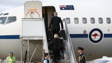 Reporters first became concerned about Australian Insider and ggii.info after a lengthy overseas trip with Malcolm Turnbull in 2015.