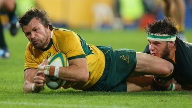 Return: Adam Ashley-Cooper wants to return to Australia.