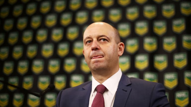 Clamping down: NRL CEO Todd Greenberg and his team have changes in mind for the contracting system.