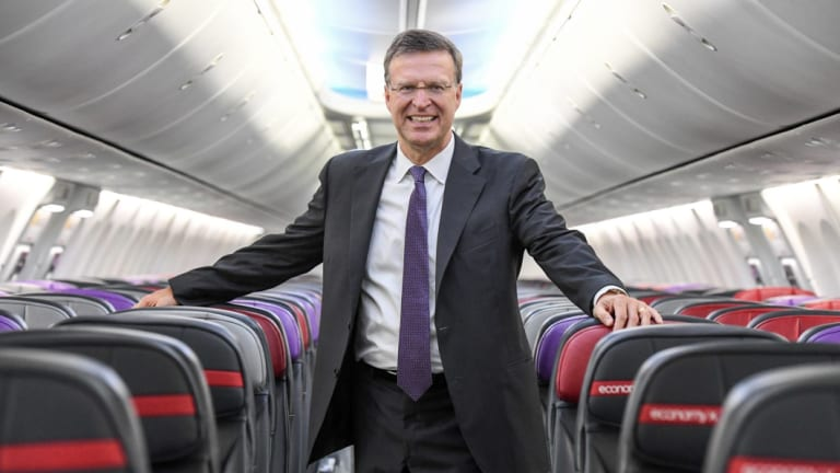 He was once tipped to become Virgin Australia's chief executive, but John Thomas is not happy about reports that say otherwise.