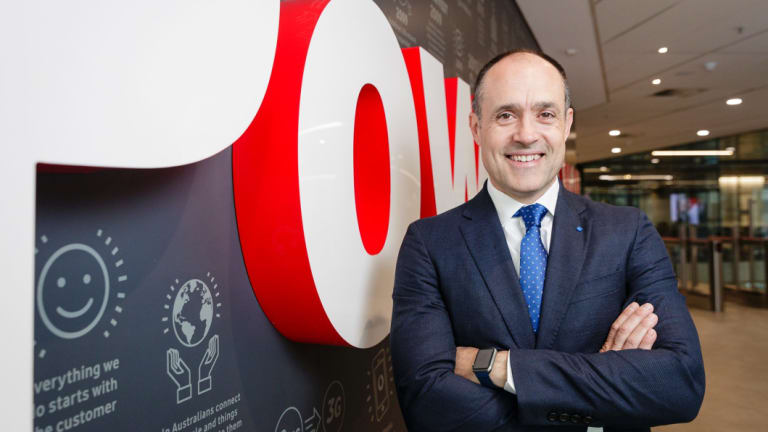 "Vodafone chief executive Inaki Berroeta: ""We are doing this to really compete harder."""