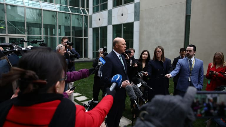 Peter Dutton has faced a number of challenges since mounting a leadership challenge last month.