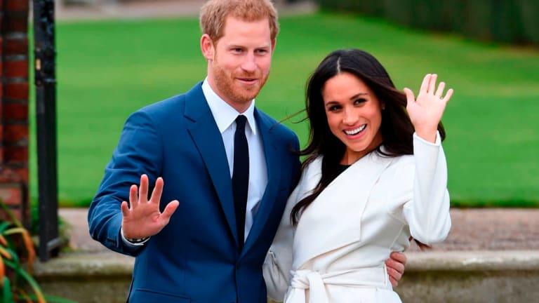 Prince Harry and Meghan Markle.
