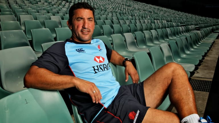 Joining the chorus: Waratahs coach Daryl Gibson is a fan of returning Super Rugby to a simpler format.