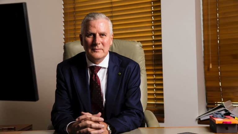 Deputy Prime Minister Michael McCormack, who recently met with Canberra Airport to discuss flight cancellations.