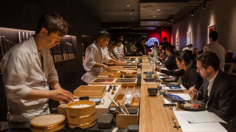 Actual maths you need: working out how to split a Japanese meal.