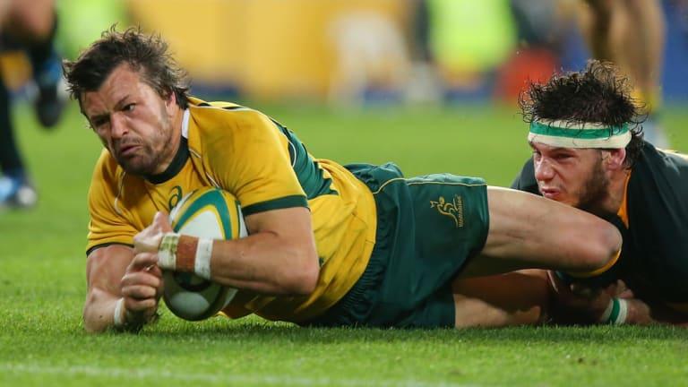 Return: Adam Ashley-Cooper wants to return to Australia.