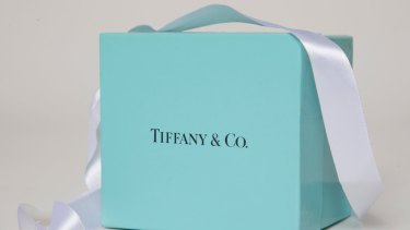 The blue hue is trademarked by Tiffany & Co.