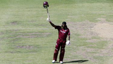 At the age of 39, Chris Gayle can still demoralise international bowling attacks.