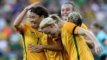 The government will announce $15 million for a new home for the Matildas in Melbourne.