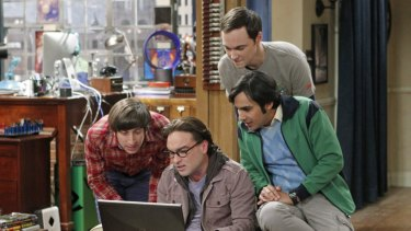 When they were young: the early years of The Big Bang Theory.