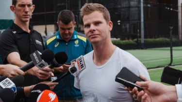 Steve Smith's surgery is tipped to keep him on the sideline a little longer than Warner.