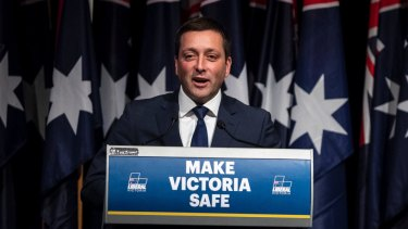 Matthew Guy is making an issue of population growth, and all that it brings.