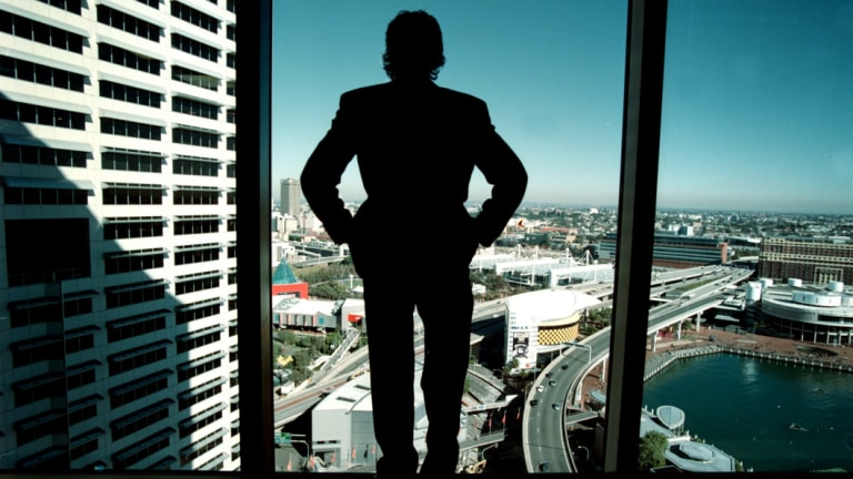 Australians feel large corporations and senior executives have gained a lot from national growth.
