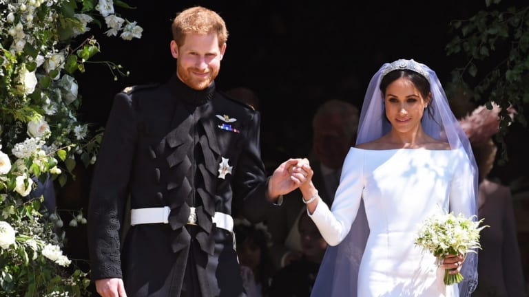 Prince Harry's marriage to Meghan Markle drove huge interest.