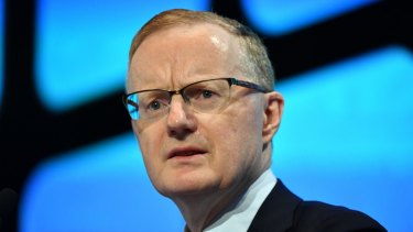 "RBA governor Philip Lowe said the board would ""continue to monitor developments and set monetary policy to support sustainable growth""."