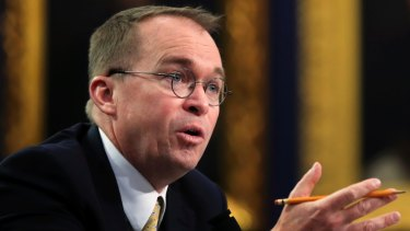 Acting chief of staff Mick Mulvaney defended Trump's decision to cut aid to three countries.