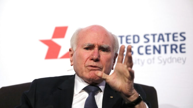 Former prime minister John Howard appealed to traditional conservatives and the so-called Howard battlers.