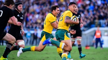 Israel Folau and the Wallabies could be playing in Japan more often.