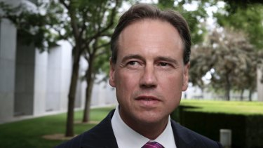 Health Minister Greg Hunt is still considering amendments to the legislation.