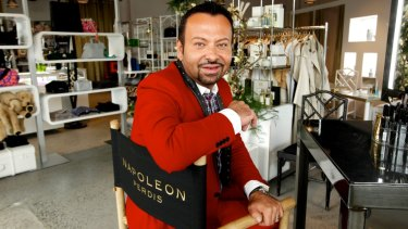 """Napoleon Perdis will stay on as a """"creative consultant"""" at the brand he founded."""