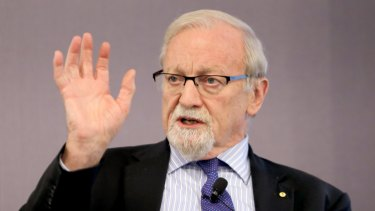 "Australian National University chancellor Gareth Evans: ""I think there is general acknowledgement that what universities are all about is respect for academic freedom, academic autonomy and free speech."""