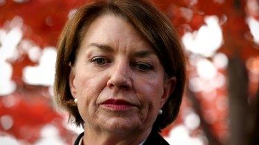ABA chief Anna Bligh said banks are working towards a low cost payment route.