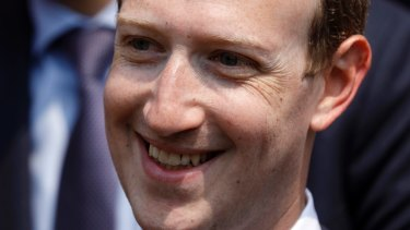 Facebook's CEO Mark Zuckerberg.