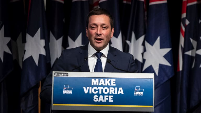 Matthew Guy says police would get new powers
