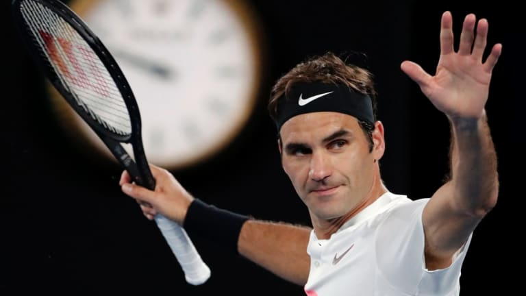 Roger Federer turned down the invitation to play in Saudi Arabia.