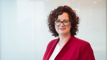 Australian Institute of Superannuation Trustees chief executive Eva Scheerlinck.