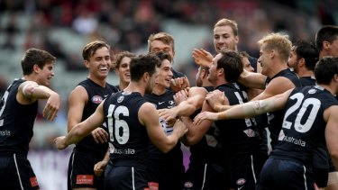 Carlton only enjoyed two wins this season, but have made a profit off-field.