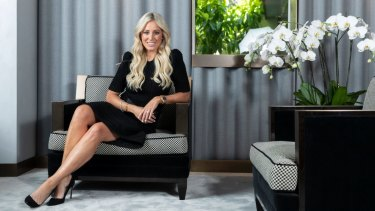 On the hunt: Roxy Jacenko is offering a $5,000 reward to find the culprits of her latest graffiti attack.
