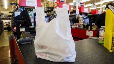 Thicker department store plastic bags are now in the sights of authorities who are investigating a voluntary phase-out.