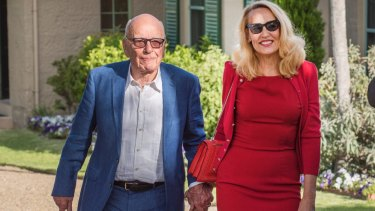 Rupert Murdoch and his wife Jerry Hall hosted the Saudi Arabian Crown Prince and a host of Hollywood power players.
