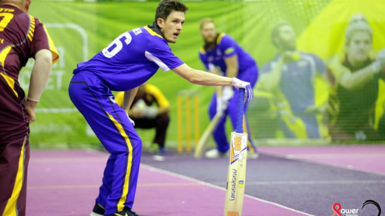 Brock Winkler has become the fifth ACT player picked in the Australian indoor cricket team.