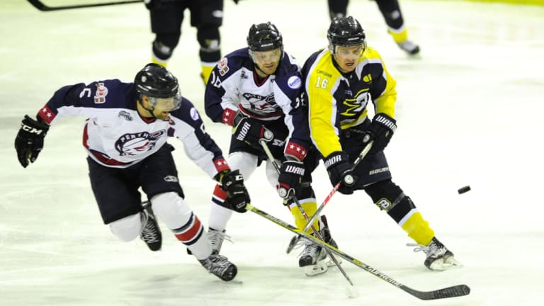 The Canberra Brave are top of the Australian Ice Hockey League ladder.