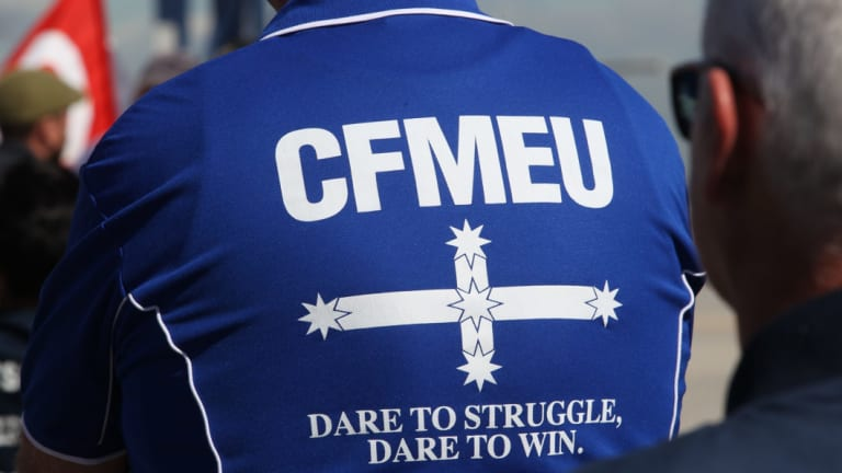 A total of $15,002,125 in fines havebeen imposed against the CFMEU since 2005.