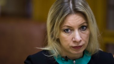 Russian Foreign Ministry spokeswoman Maria Zakharova denies the latest allegations of Russian hacking attempts.