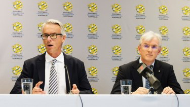 FFA boss David Gallop and chairman Steven Lowy will be weary of Canberra's small population.