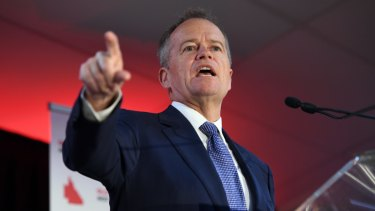 Opposition Leader Bill Shorten promised to set up a National Hydrogen Innovation Hub in Gladstone as part of a $1 billion plan to boost the emerging hydrogen industry.
