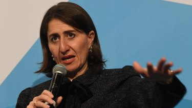 NSW Premier Gladys Berejiklian has called for migrant arrivals to her state to cut by half.
